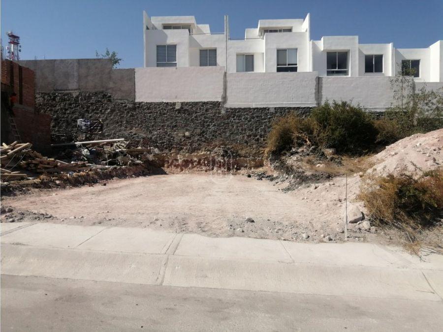 venta terreno residencial zibata el marques queretaro