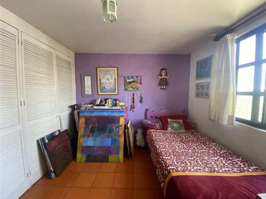 venta casa mexicana 4 recamaras centrica plaza del parque queretaro
