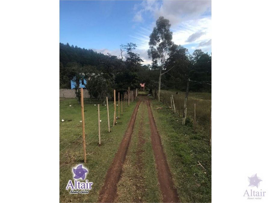 se venden lotes de terreno en valle de angeles