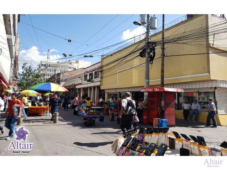 alquiler local esquina calle peatonal el centro