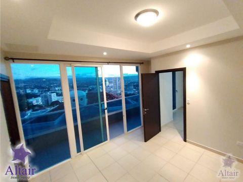 se renta apartamento de 3 habitaciones en torre atenea
