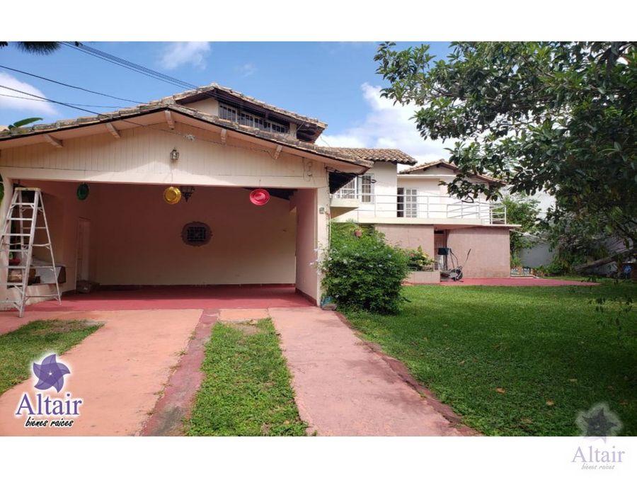 se vende casa en san ignacio 550000