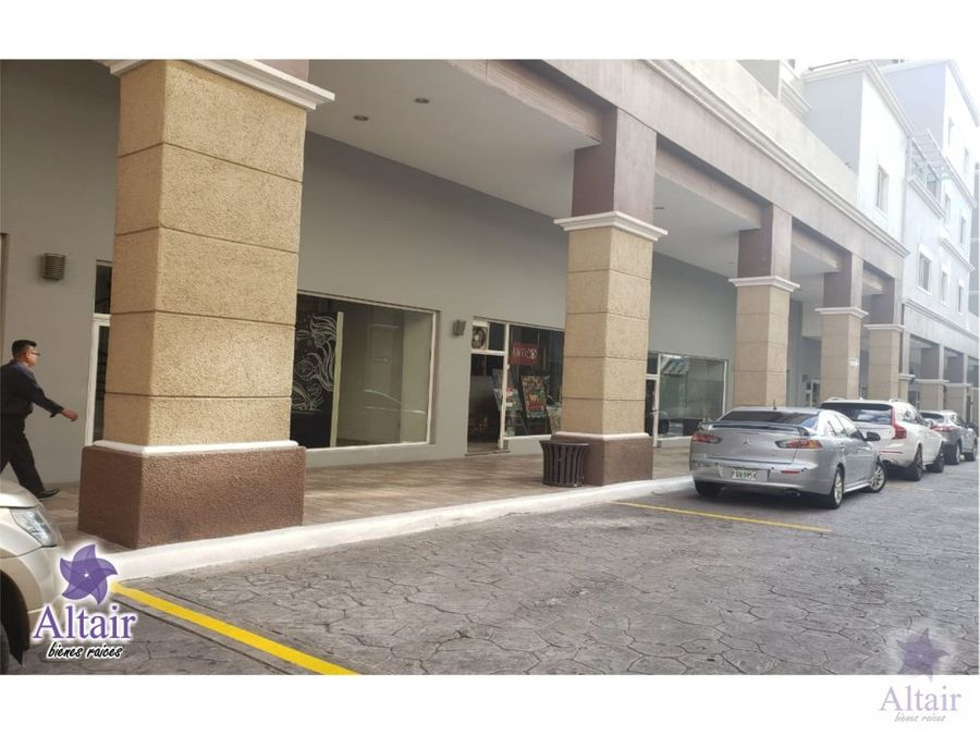se alquila local comercial paseo proceres