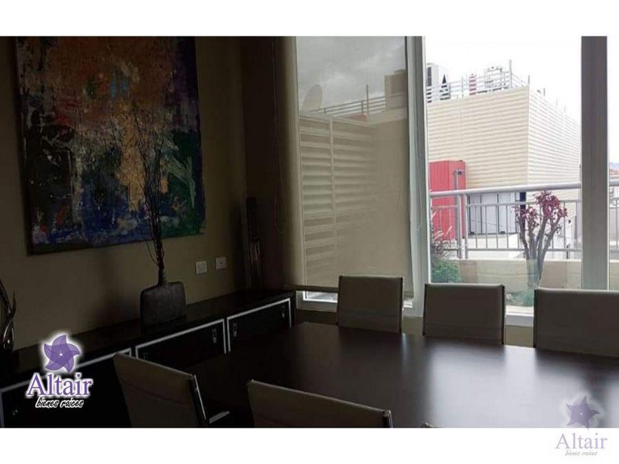 se alquila apartamento en green tower amueblado