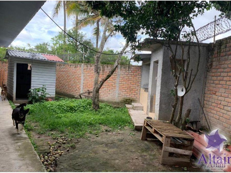se vende casa en la aldea de tamara