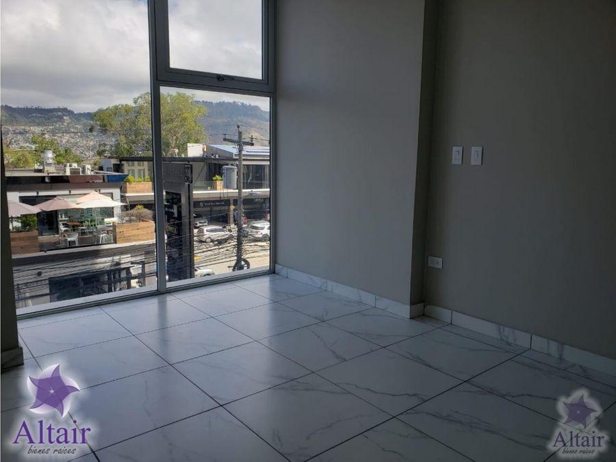 se alquila apartamento nuevo en edificio nivo lomas del guijarro