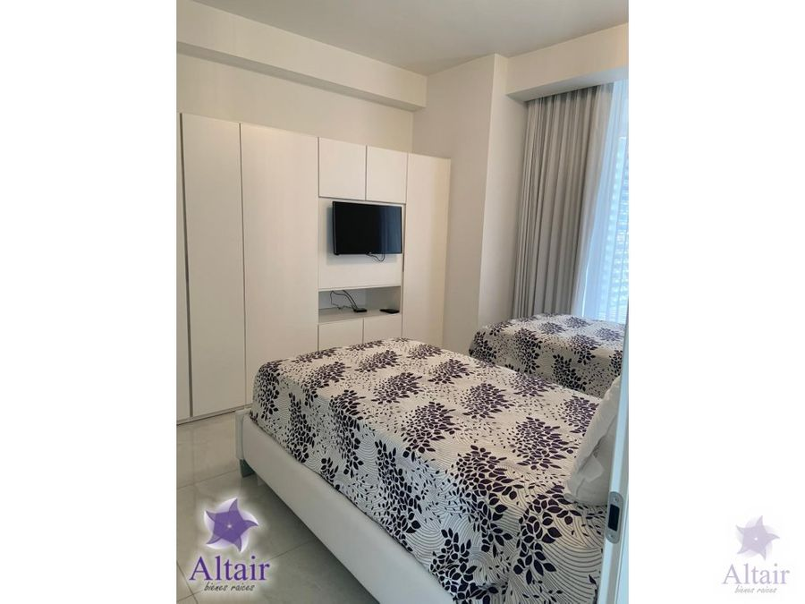 apartamento amueblado en torre platinum