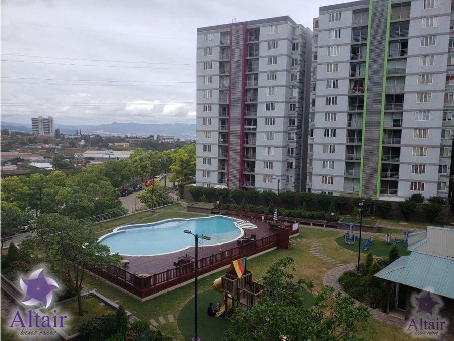 se alquila apartamento amueblado en ecovivienda
