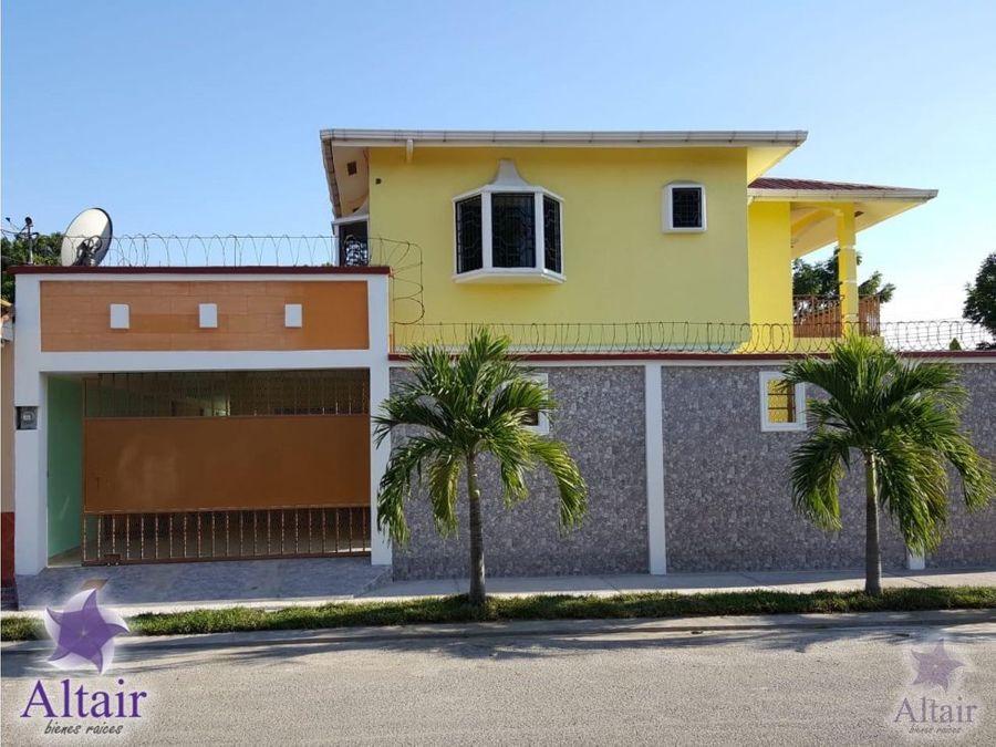 se vende casa en residencial san jose de sula sps
