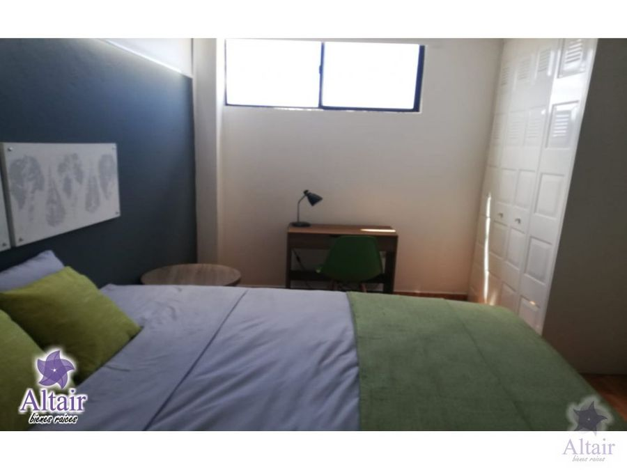 se renta apartamento amueblado en tres caminos