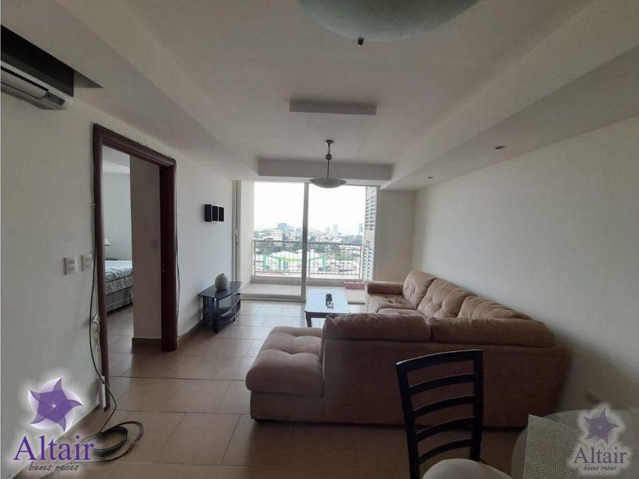 se renta apartamento amueblado de una habitacion en green tower
