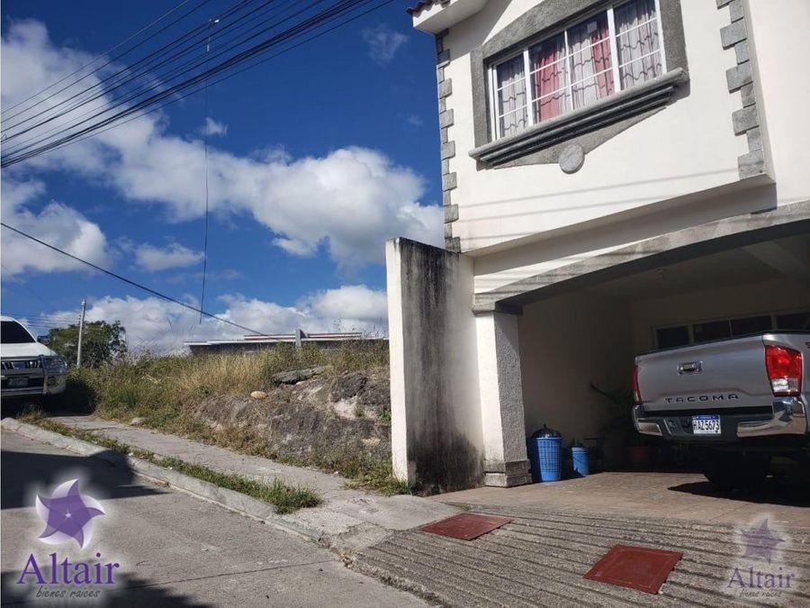 se vende lote de terreno en residencial lomas de germania