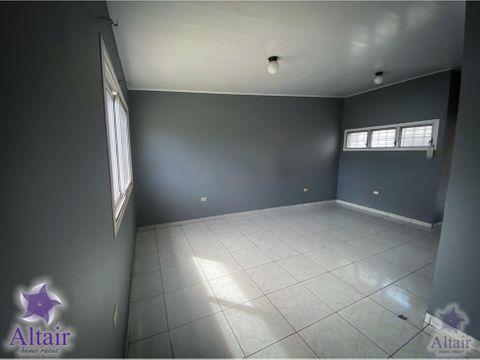 se alquila apartamento en villa centroamericana