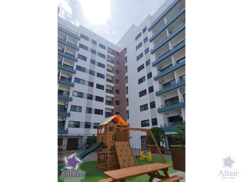 se alquilan apartamentos nuevos de 2 habitaciones en san ignacio