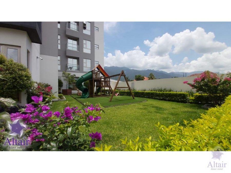 se renta apartamento en torres del valle sps