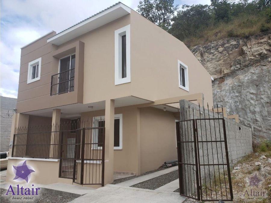 se vende casa nueva en los hidalgos