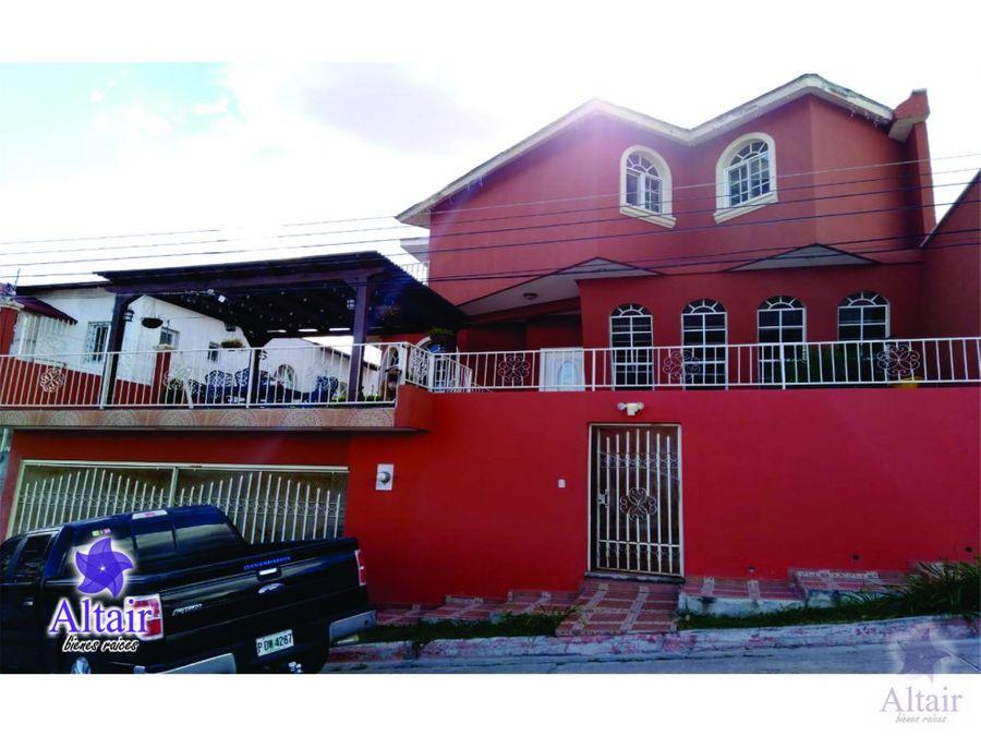 se vende casa en residencial lomas las hadas
