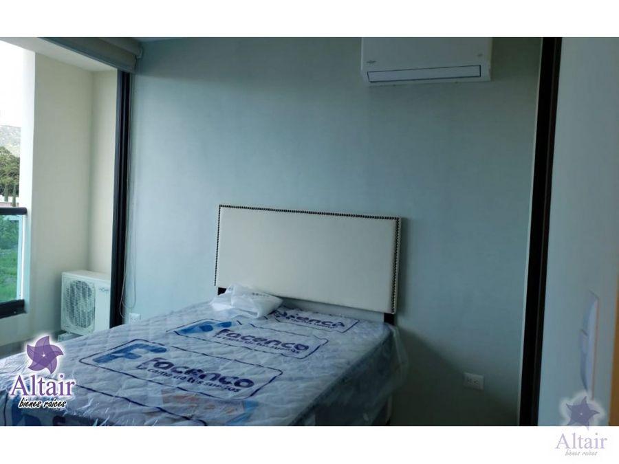 se alquila apartamento amueblado lomas del mayab