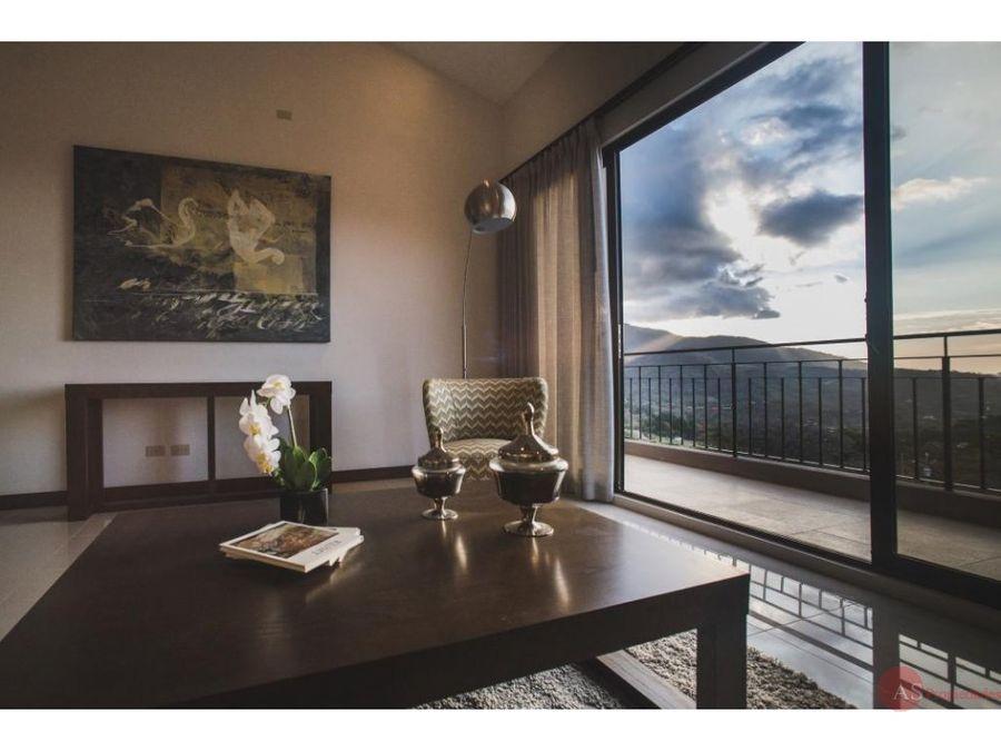apartamento en vista al valle