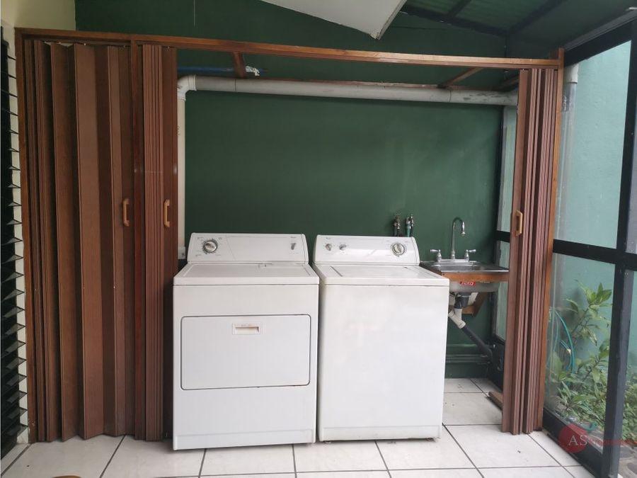 apartamento amueblado en escazu