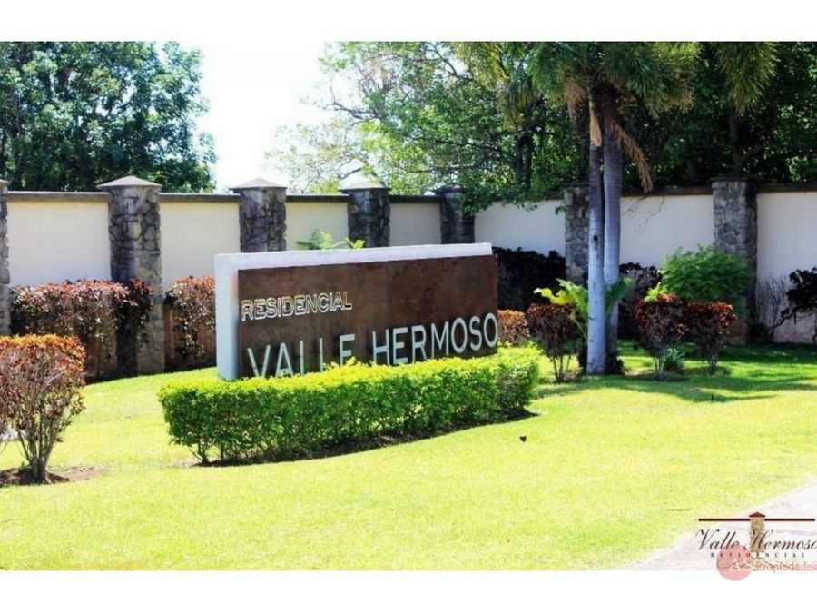 lotes residencial valle hermoso alajuela