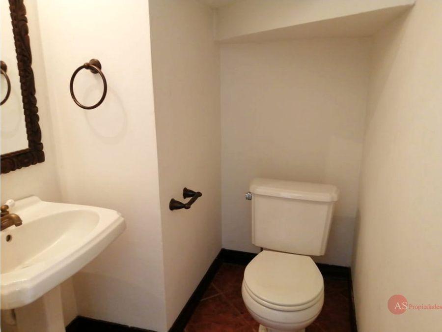 casa en condominio san rafael de escazu
