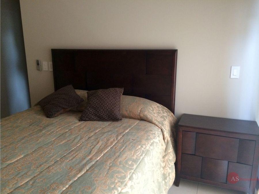 apartamento amoblado en residencial belen