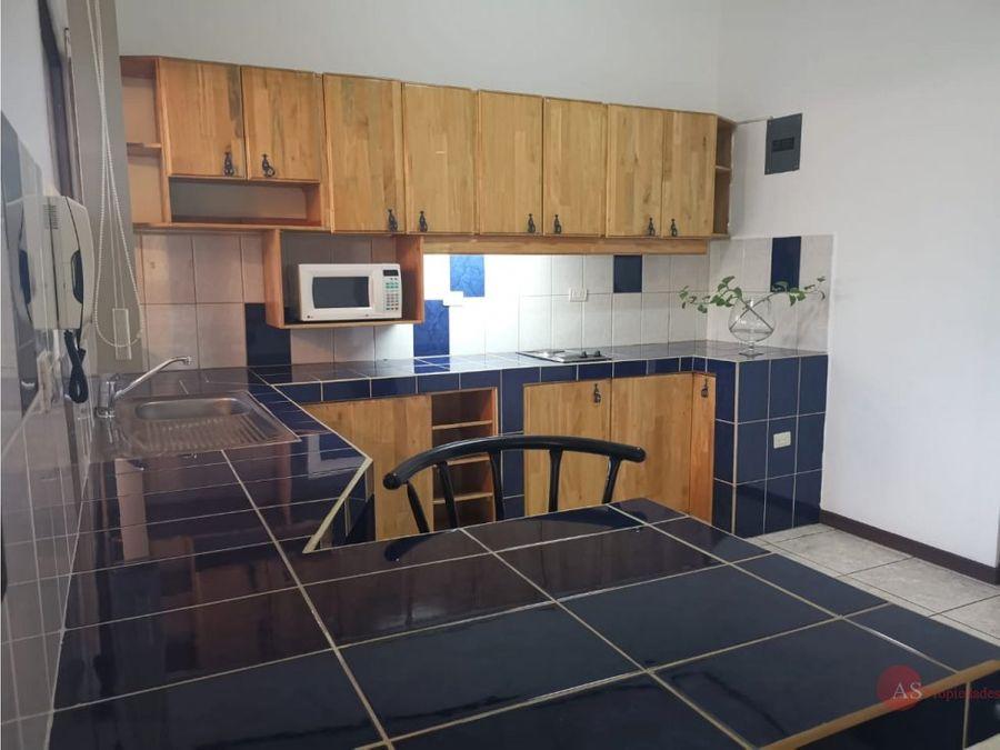 apartamento amueblado en rohrmoser