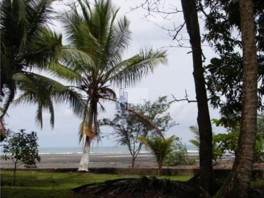 terreno frente al mar en chiriqui