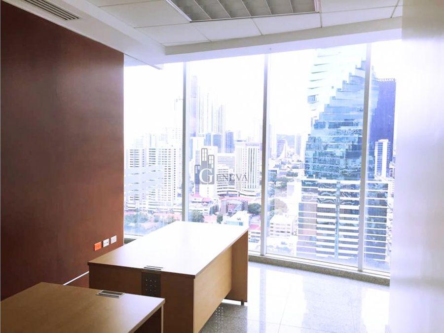 oficina lista para ocupar en torre global bank