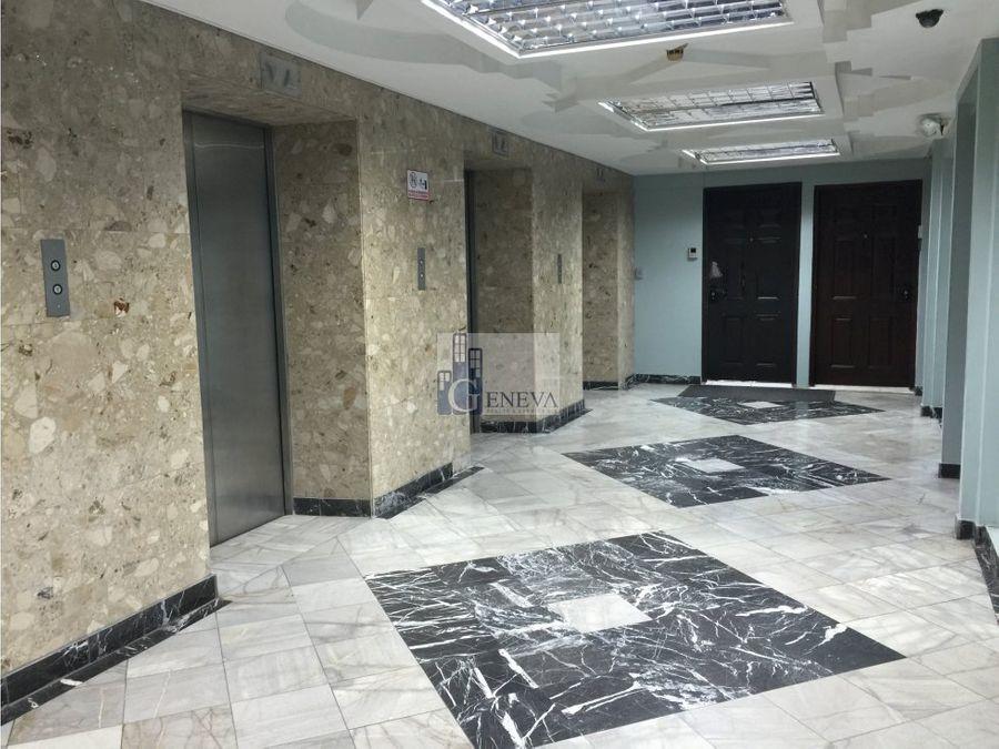 amplia y lujosa oficina en la torre bac