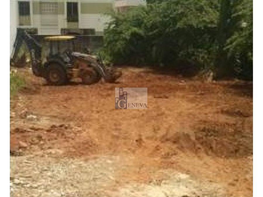 terreno en venta en carrasquilla id 12266