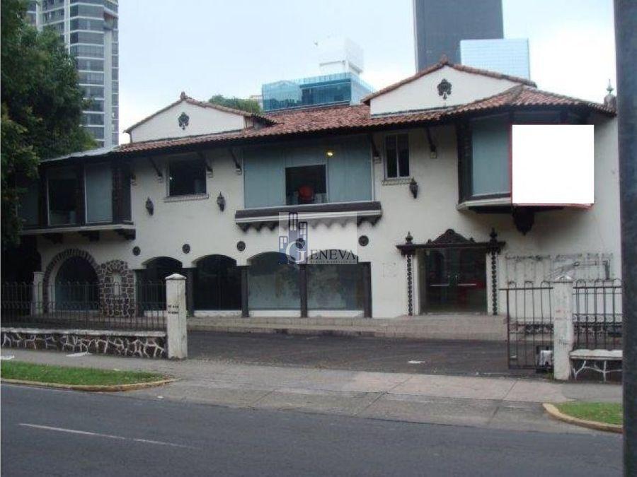 casa comercial en la calle 50 id 12527