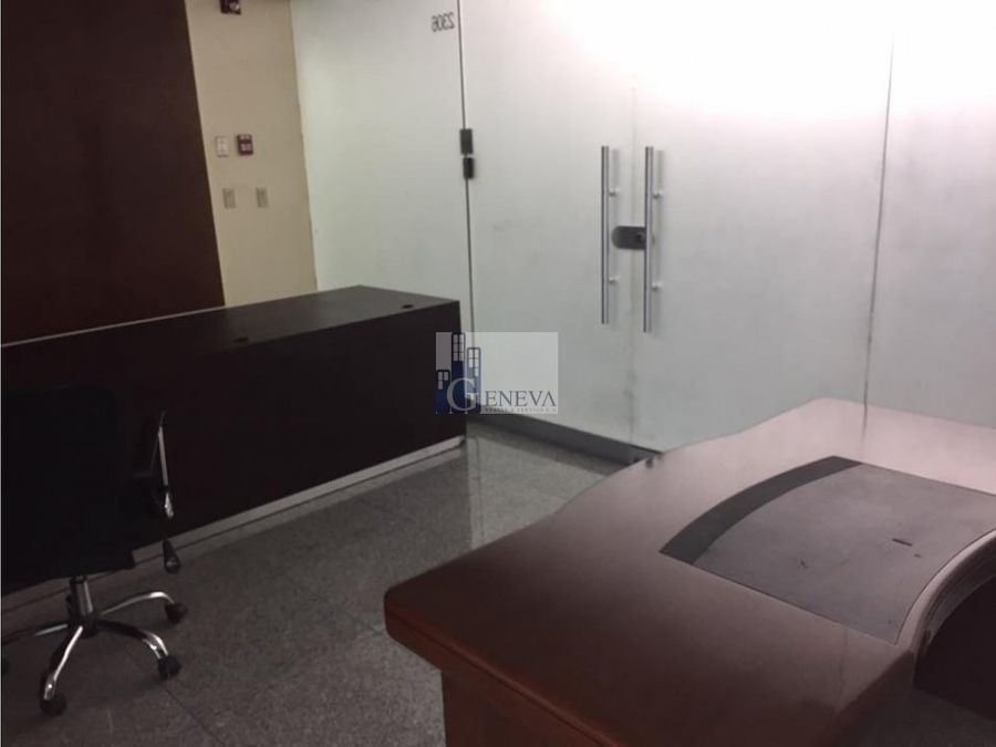 oficina en alquiler en la torre global bank