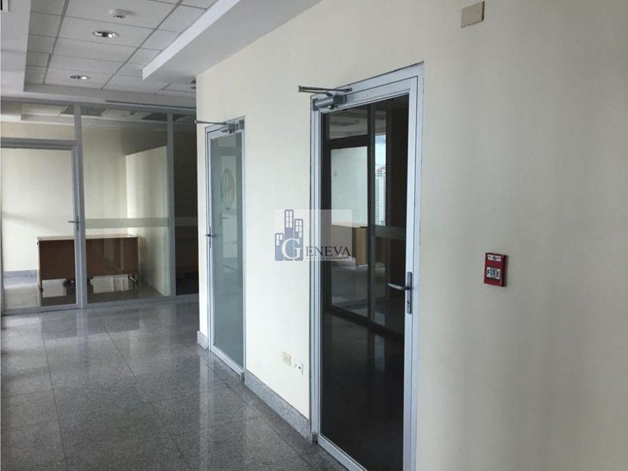 oficina en la torre global bank calle 50