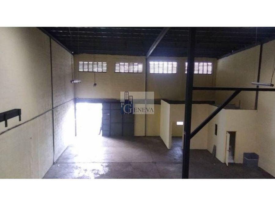galera en alquiler en san cristobal id 12075