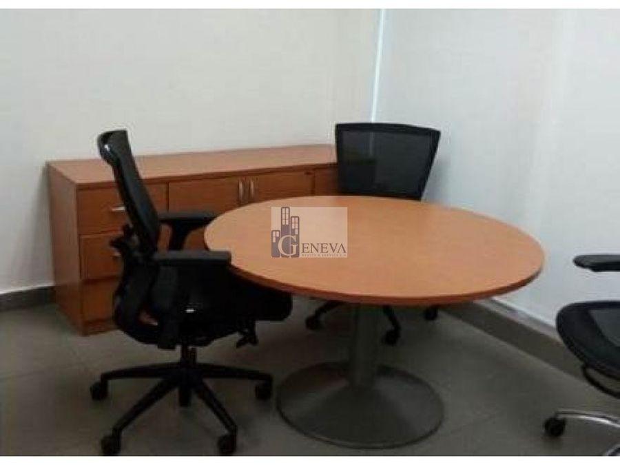oficina amoblada en obarrio id 11941