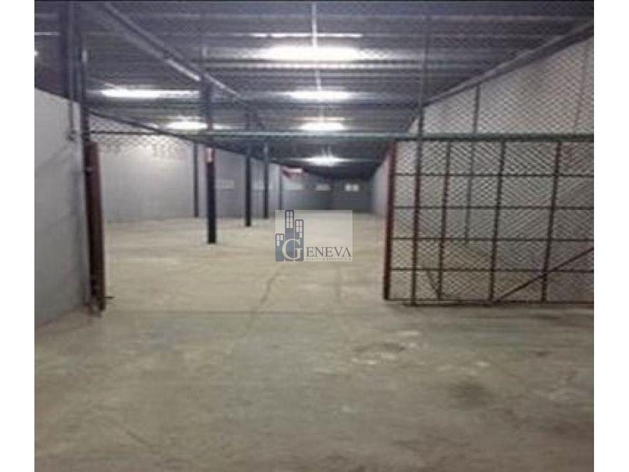 alquiler de galera en pueblo nuevo id 11672