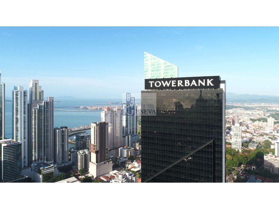oficina en tower bank calle 50 id 12686