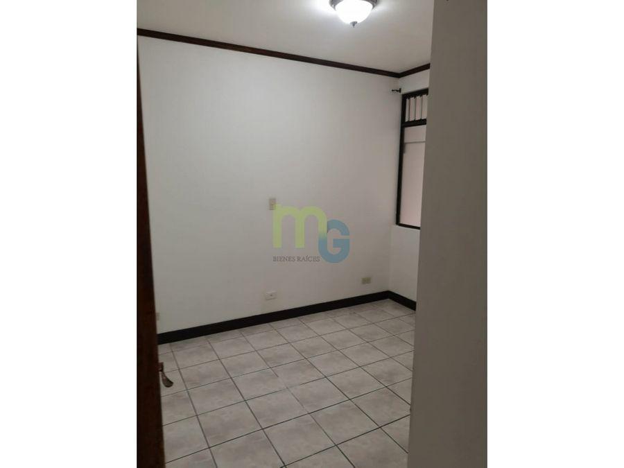 alquiler de apartamento en condominio en zapote