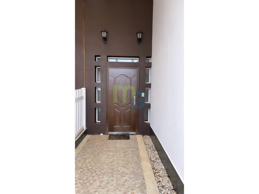 alquiler de casa en condominio en san pablo de heredia
