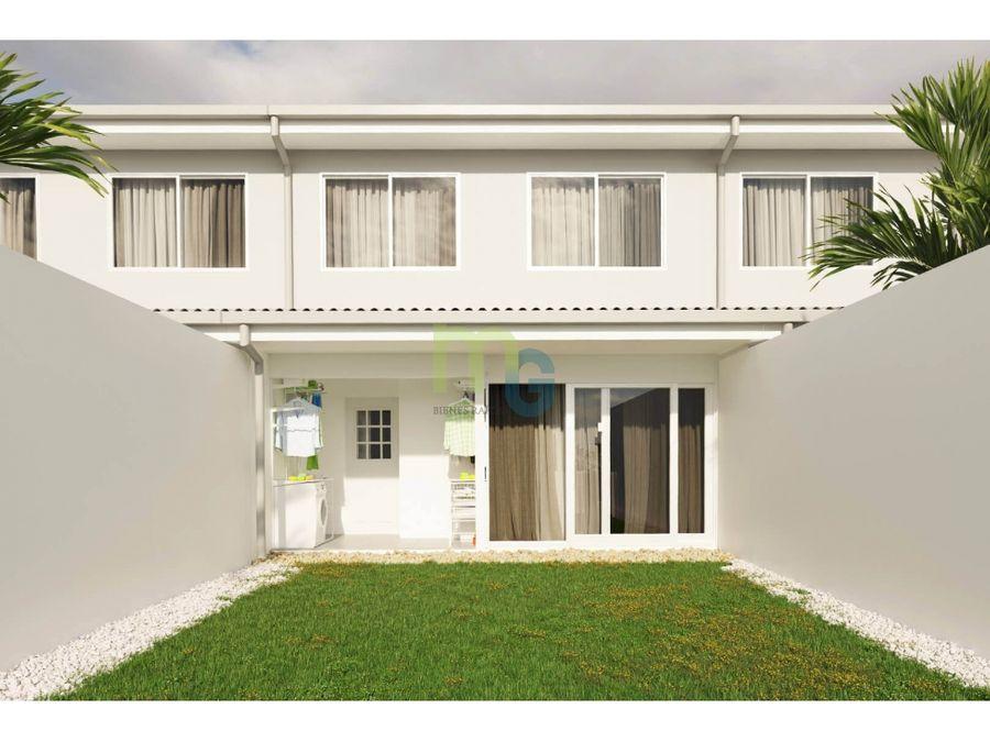 venta de casa en condominio en heredia