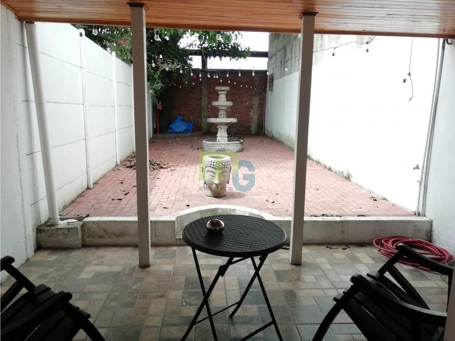 venta de casa de una planta amueblada en plaza viquez