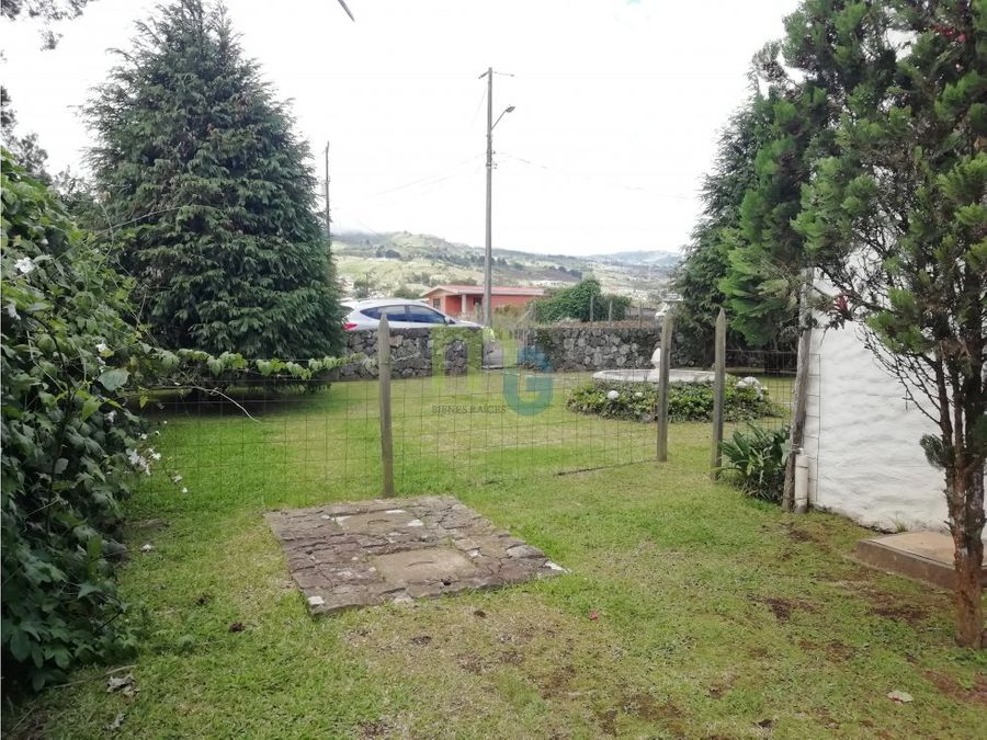 oportunidad venta de terreno con casa en oreamuno de cartago