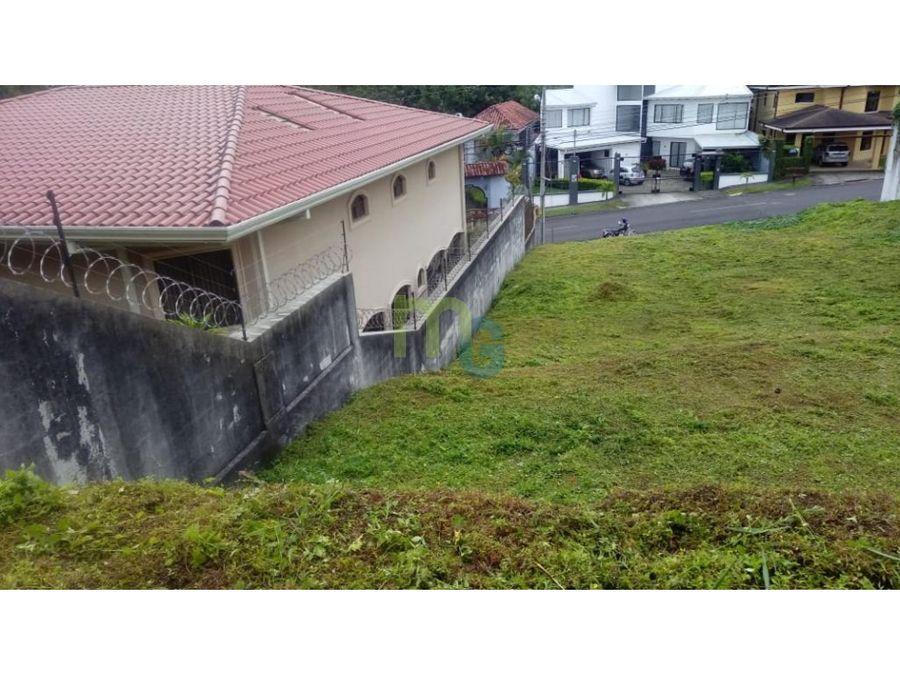 lote a la venta en exclusivo residencial en curridabat