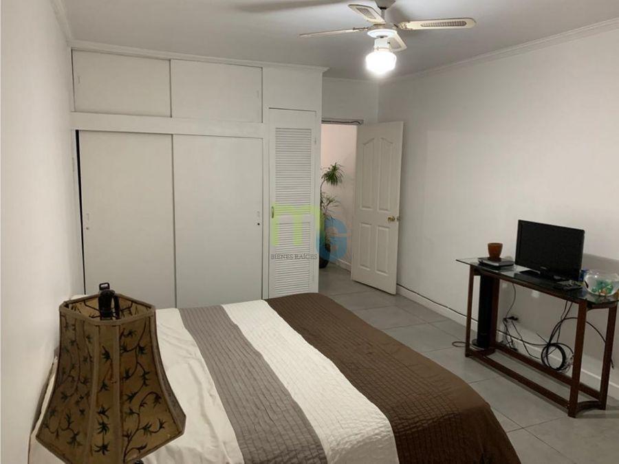 alquiler de apartamento amueblado en san pedro
