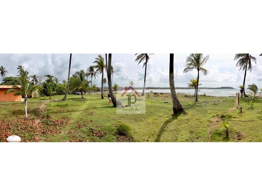 vendo terreno en palenque frente al mar caribe