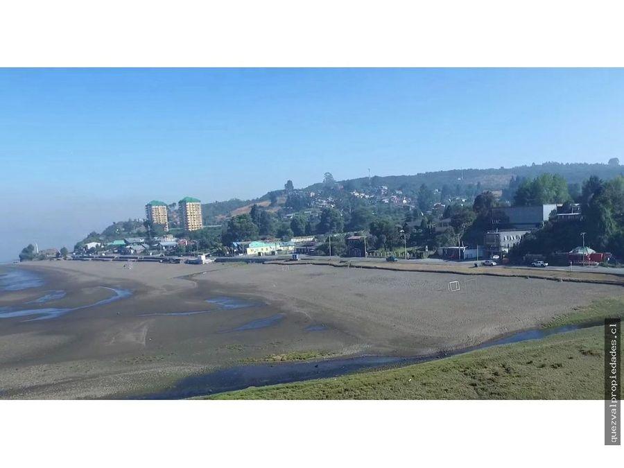 se vende sitio urbano sector balneario pelluco
