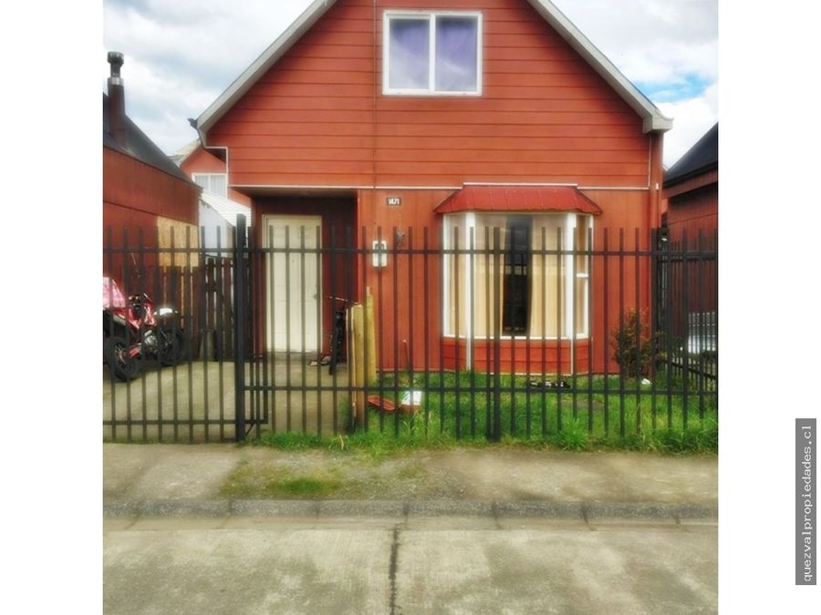 vende casa sector bosque mar puerto montt
