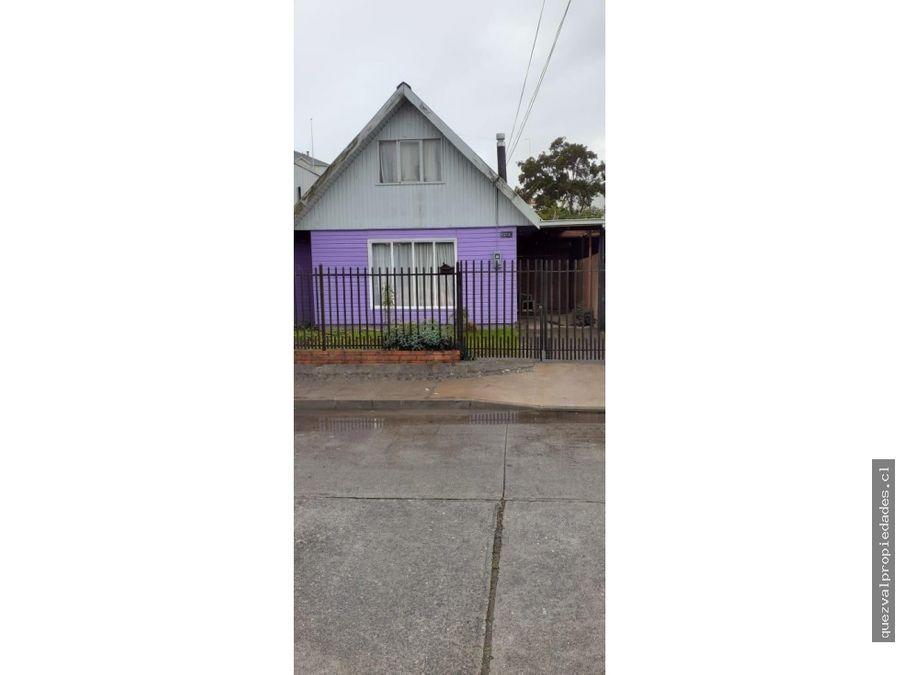 vende casa villa antihual